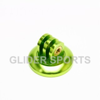 【送料無料】GoPro アクセサリー アルミ三脚 アダプター 緑  GLD5810go76-gr
