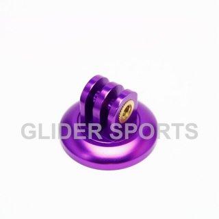 【送料無料】GoPro アクセサリー アルミ三脚 アダプター 紫  GLD5827go76-pl