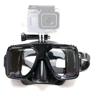 【送料無料】GoPro アクセサリー マウント付ダイビングマスク  GLD6145go129b