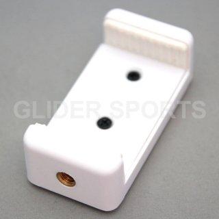 iPhone・スマートフォン スマホ用 三脚ホルダー 白  GLD7579mj12w