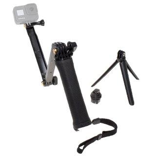 【送料無料】GoPro アクセサリー 3WAY1脚・3脚・延長3タイプアーム  GLD7661mj01