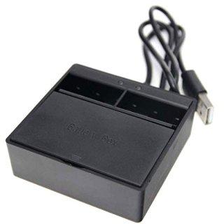 【送料無料】GoPro HERO7Black/HERO6/HERO5 アクセサリー デュアルバッテリー充電器  GLD7708go213
