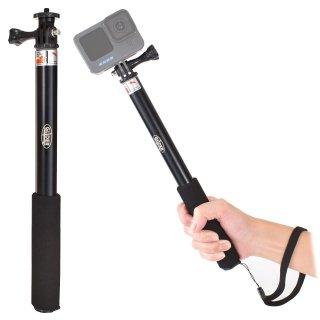 【送料無料】GoPro アクセサリー 4段伸縮グリップ 自撮り棒  GLD7722go100