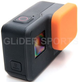 【送料無料】GoPro HERO7Black/HERO6/HERO5 アクセサリー シリコンレンズカバー オレンジ  GLD7913go210