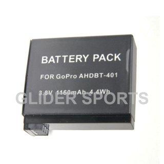【送料無料】GoPro HERO4 用 互換バッテリー 住本製作所  GLD8231mj05