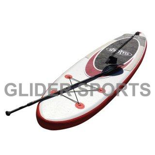 【送料無料】SUP サップ GLIDER KAWELA(カウェラ) スターターセット 赤×白  GLD8446kawela-rd
