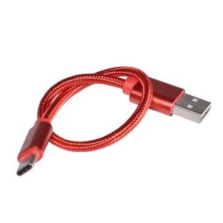 GoPro(ゴープロ)用 (HERO7/HERO6/HERO5/5Session対応)  USB-Cケーブル 赤 充電 接続 GLD9580go212
