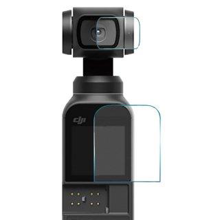 【送料無料】DJI ディージェイアイ OSMPKT Osmo Pocket専用 超硬度保護フィルム (mj56) メイン&レンズ保護フィルム ガラスフィルム GLD3303MJ56