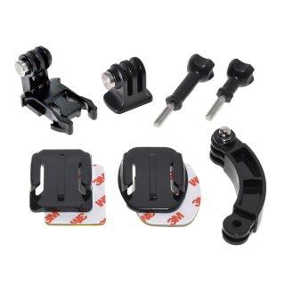 GoPro(ゴープロ)用アクセサリー マウント用パーツセットMJ74  アクションカメラ用パーツ ウェラブルカメラ用マウント GLD3501MJ74
