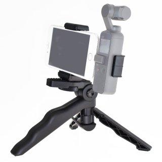 DJI Osmo Pocket用 三脚ホルダー  オスモポケット対応ブラケット スマホホルダー ミニ三脚 GLD3631MJ85