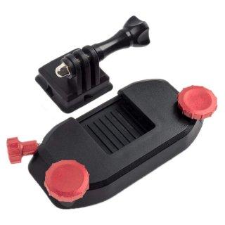 GoPro(ゴープロ)用アクセサリー クイック着脱リュッククリップ ネジ赤  バックパック リュック 肩ベルト GLD3716GO206R