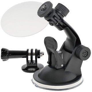 GoPro(ゴープロ)用アクセサリー ミドルアーム付吸盤マウント & ゲルタックシート 車 ドラレコ  GLD3983GP61J