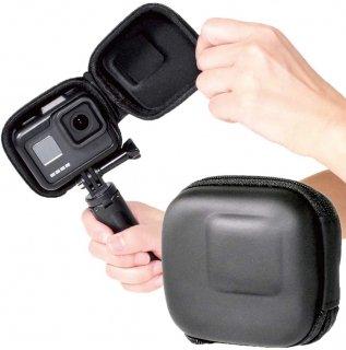 GoPro(ゴープロ)用 アクセサリー 保護ケース (HERO8 HERO7 HERO6 HERO5 対応) ケース 衝撃吸収 ミニケース GLD4072MJ18