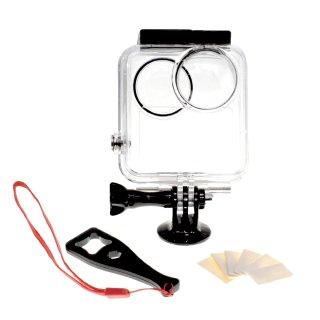 GoPro(ゴープロ)用 MAX (マックス) 対応 アクセサリー 防水ハウジング 防水ケース  40m防水 ケース 防水検査済 海 水中 GLD4164GO272