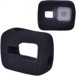 GoPro(ゴープロ)用 (HERO8Black対応) 防風スポンジカバー 騒音防止 録音ノイズ対策 防風カバー ケース GLD4669MJ49