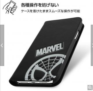 iPhone XR 『マーベル』/手帳型ケース ポップアップ/スパイダーマン
