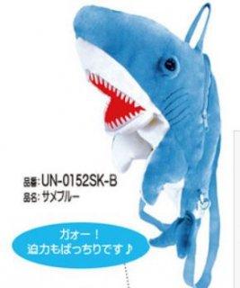 NEW  サメ リュック ぬいぐるみ リアル鮫 魚 子供バッグ 原宿系