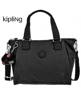 KIPLING/キプリング レディース 2way 手提げ ショルダーバッグ TRUE BLACK