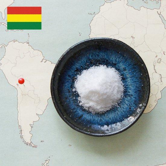 ボリビア ウユニ塩湖の塩