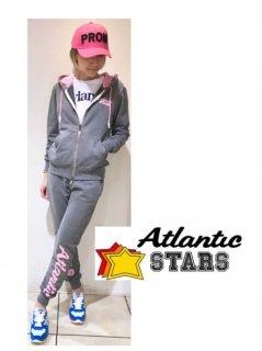 Atlantic STARS スウェットジップアップパーカー