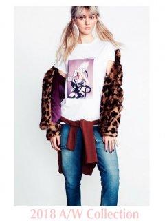 【DOUBLE STANDARD CLOTHING】ナチュラル天竺Tシャツ