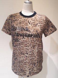 【DOUBLE STANDARD CLOTHING】オリジナルレオパード度詰天竺Tシャツ