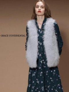 【GRACE CONTINENTAL】カシミヤファーベスト