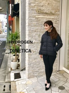 【HYDROGEN BY DUVETICA】 ALLOVER DOWN JACKET【Ladies】