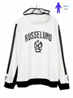 【Russeluno】MASK HOODY(SOLID)【WHITE】