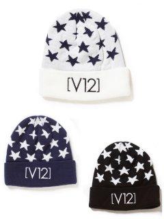 【V12】STAR KNIT CAP【全2色】