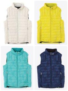 【MARK&LONA】Gage Packable Down Vest(MEN)【全4色】