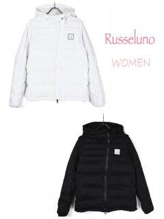 【Russeluno】2WAY  DOWN JACKET(SOLID)(WOMEN)【全2色】