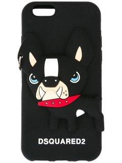 【Dsquared2】iPhone 6/6s/7/8 Cover カバー(ブルドッグ)