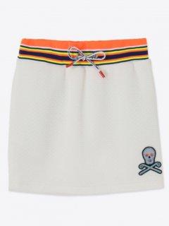 【MARK&LONA】Freq Mesh Skirt【全3色】
