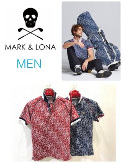 【MARK&LONA】Riviere Polo(MEN)【全2色】