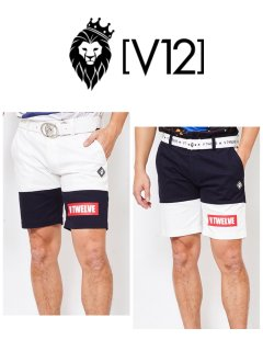【V12】TWO TONE SHORTS(MEN)【全2色】