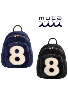 【muta MARINE】ラウンドムートン8リュック【全2色】