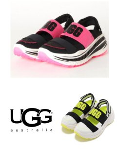 <img class='new_mark_img1' src='https://img.shop-pro.jp/img/new/icons14.gif' style='border:none;display:inline;margin:0px;padding:0px;width:auto;' />【UGG】SLINGBACK RUNNER(WOMEN)【全2色】