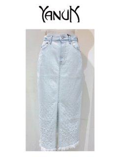 【YANUK】Slit Long Skirt【PIC】