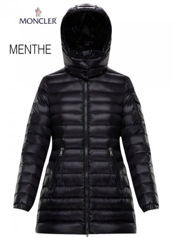<img class='new_mark_img1' src='https://img.shop-pro.jp/img/new/icons13.gif' style='border:none;display:inline;margin:0px;padding:0px;width:auto;' />【MONCLER】MENTHE マント ダウンジャケット(WOMEN)【BLACK】