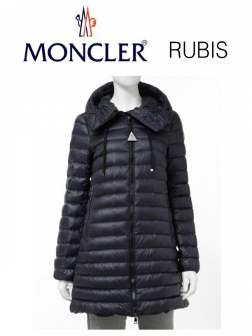 <img class='new_mark_img1' src='https://img.shop-pro.jp/img/new/icons13.gif' style='border:none;display:inline;margin:0px;padding:0px;width:auto;' />【MONCLER】RUBIS ダウンコート(WOMEN)【NAVY】