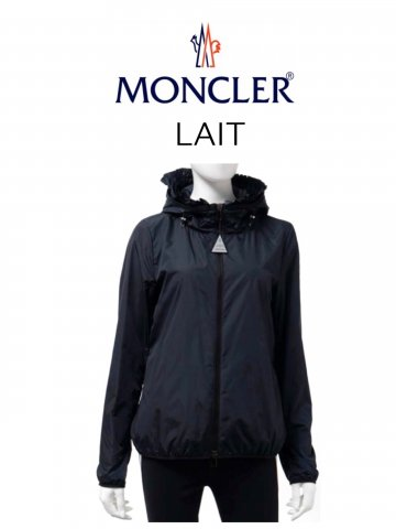 <img class='new_mark_img1' src='https://img.shop-pro.jp/img/new/icons13.gif' style='border:none;display:inline;margin:0px;padding:0px;width:auto;' />【MONCLER】ウインドブレーカー LAIT(WOMEN)【NAVY】