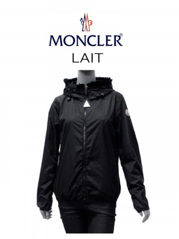 <img class='new_mark_img1' src='https://img.shop-pro.jp/img/new/icons13.gif' style='border:none;display:inline;margin:0px;padding:0px;width:auto;' />【MONCLER】ウインドブレーカー LAIT(WOMEN)【BLACK】