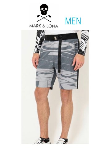 【MARK&LONA】TL7-astronaut shorts(MEN)【BLACK】