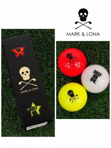 <img class='new_mark_img1' src='https://img.shop-pro.jp/img/new/icons13.gif' style='border:none;display:inline;margin:0px;padding:0px;width:auto;' />【MARK&LONA】Magnum Neon Ball【3pcs Set】