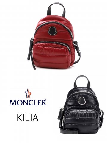 <img class='new_mark_img1' src='https://img.shop-pro.jp/img/new/icons13.gif' style='border:none;display:inline;margin:0px;padding:0px;width:auto;' />【MONCLER】KILIA ミニショルダーバッグ【全2色】