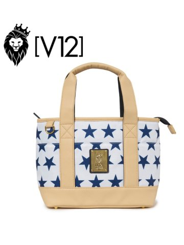 <img class='new_mark_img1' src='https://img.shop-pro.jp/img/new/icons13.gif' style='border:none;display:inline;margin:0px;padding:0px;width:auto;' />【V12】STAR CART BAG【WHITE】
