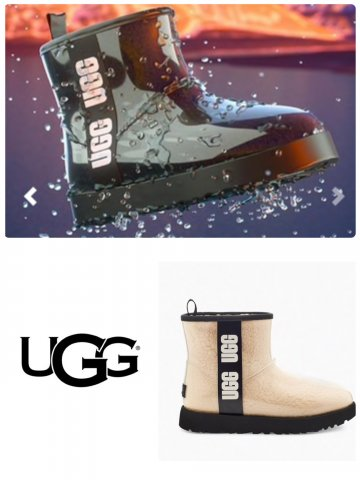 <img class='new_mark_img1' src='https://img.shop-pro.jp/img/new/icons13.gif' style='border:none;display:inline;margin:0px;padding:0px;width:auto;' />【UGG】CLASSIC CLEAR MINI(WOMEN)【全2色】