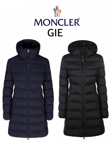 <img class='new_mark_img1' src='https://img.shop-pro.jp/img/new/icons13.gif' style='border:none;display:inline;margin:0px;padding:0px;width:auto;' />【MONCLER】GIE ダウンコート(WOMEN)【全2色】