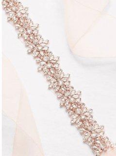 【Import-New】  David's Bridal Bijoux Sash (ビジューオーガンジーサッシュ)2色展開